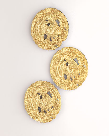 The Phillips Collection Small Gold Circle Wall Decor