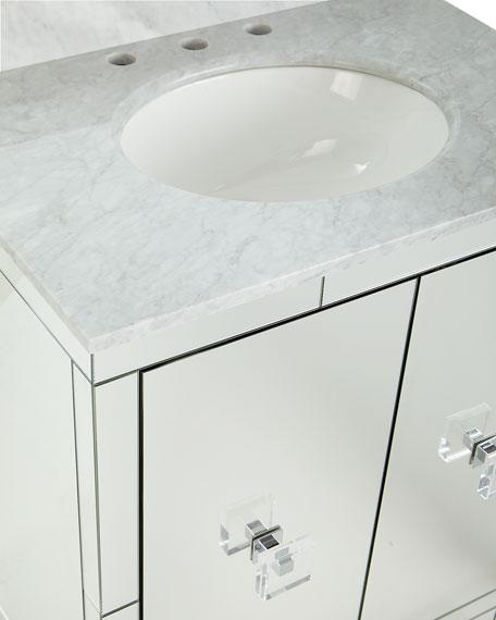 Gunther Mirrored Bath Vanity