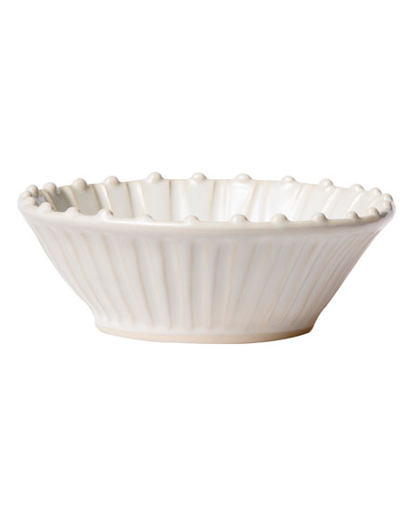 Image 2 of 2: Incanto Stone Stripe Cereal Bowl, Linen