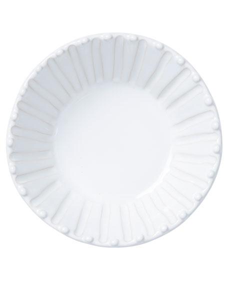 Vietri Incanto Stone Stripe Cereal Bowl, White