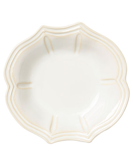 Vietri Incanto Stone Baroque Pasta Bowl, Linen