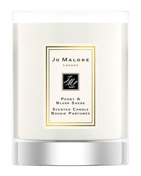 Jo Malone London Peony & Blush Suede Travel Candle, 60 g