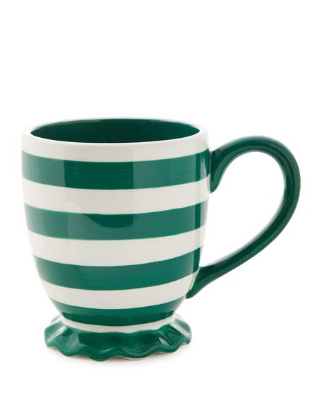 Coton Colors Spot On Ruffle Mugs, Set of 4