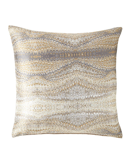 Eastern Accents Imogen Metal Knife-Edge Pillow and Matching