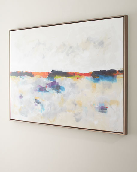 Sunlight Lake Original Painting