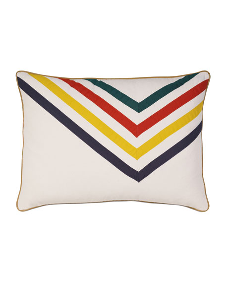 Eastern Accents Scout Arrow-Stripe Bolster Pillow