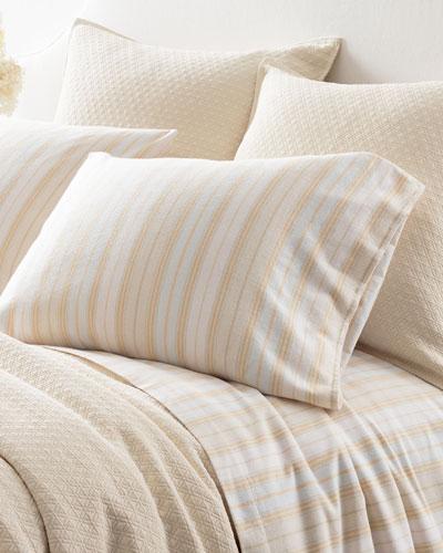 Shelburne Stripe Flannel Full Sheet Set