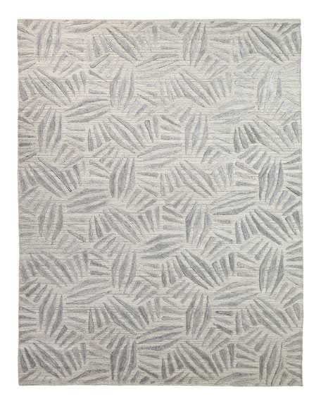Muriel Hand-Knotted Rug, 9.9' x 13.9'