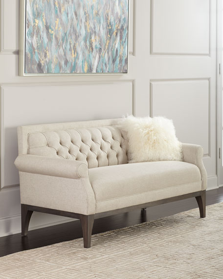 Bernhardt Faye Tufted Back Settee