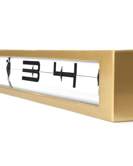 Timeline Desk Clock