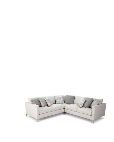 Bernhardt Eden 3-Piece Sectional Sofa