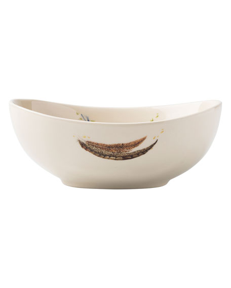 Forest Walk Oval Love and Gratitude Bowl