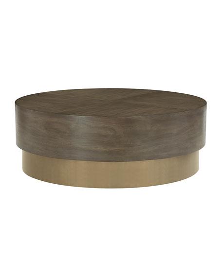 Bernhardt Profile Round Coffee Table