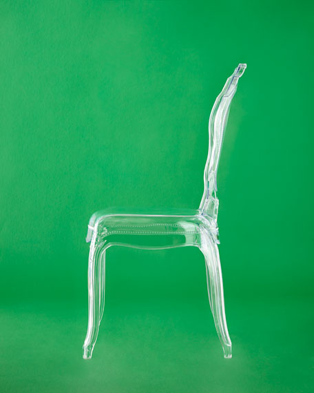 Pair of Angelica Acrylic Dining Side Chairs