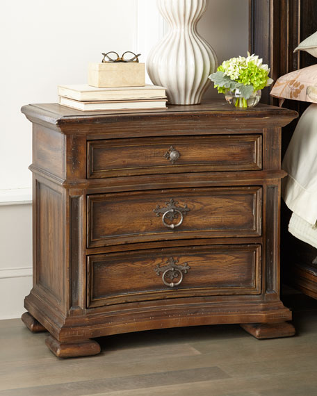 Hooker Furniture Casella Three-Drawer Night Stand