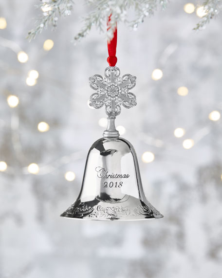 Wallace 2018 Silver-Plated Grande Baroque Bell - 24th Edition