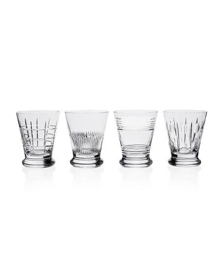 William Yeoward Kismet Whiskey Tumblers, Set of Four