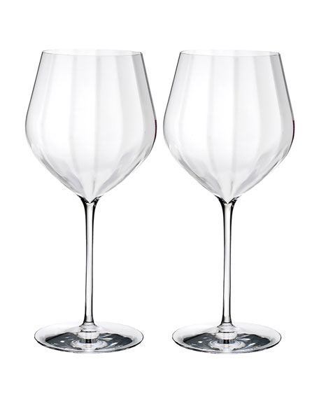 Waterford Crystal Elegance Optic Cabernet Sauvignon, Set of 2