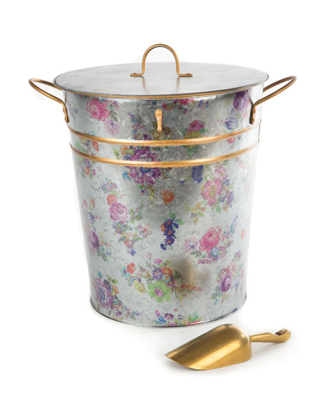 MacKenzie-Childs Flower Market Container with Scoop