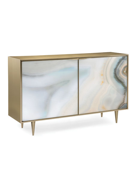 caracole Extrav-Agate Cabinet