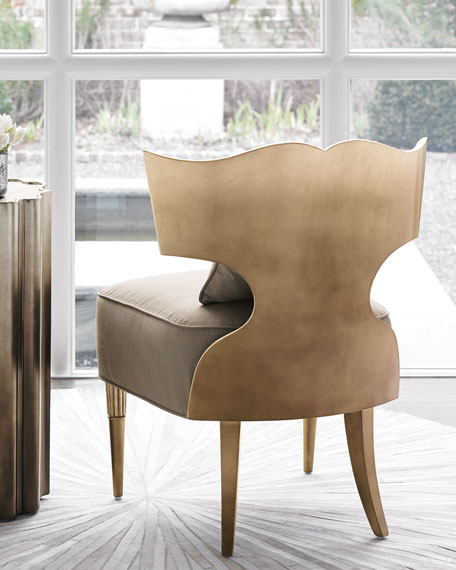 caracole Work Of Art Chair