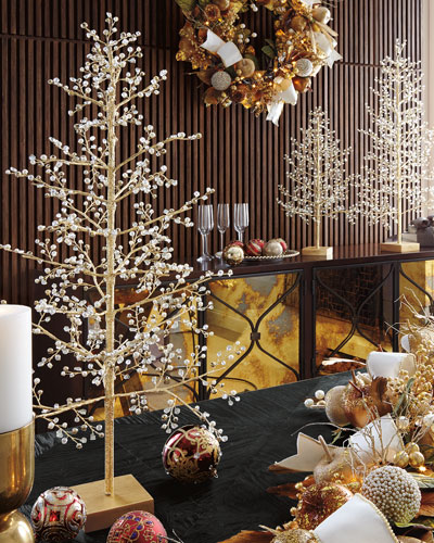 christmas decor at neiman marcus