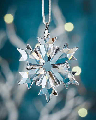 Little Crystal Snowflake Christmas Ornament
