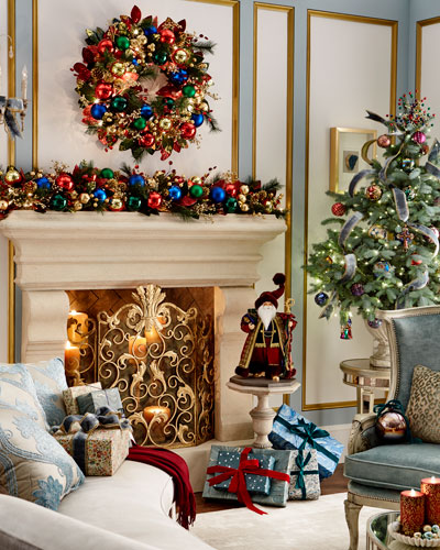 holiday decor at neiman marcus