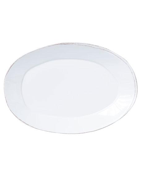 Vietri Melamine Lastra Oval Platter