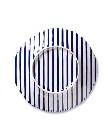 Vietri Stripe Salad Plate
