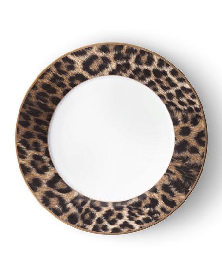 Ralph Lauren Home Hutchinson Leopard Dinner Plate