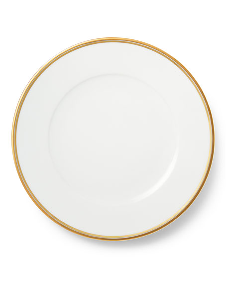 Ralph Lauren Home Wilshire Dinner Plate, Gold