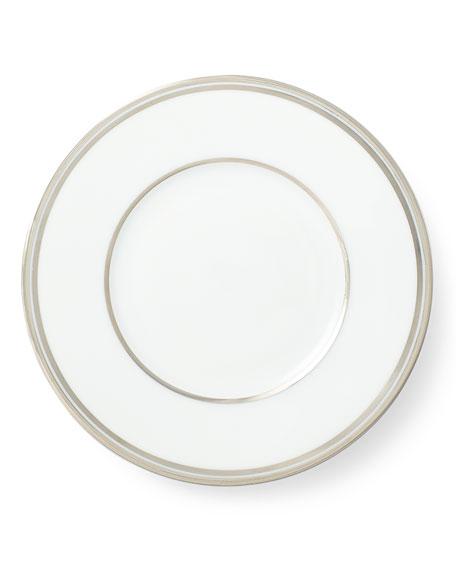Ralph Lauren Home Wilshire Bread and Butter Plate, Platinum