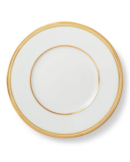 Ralph Lauren Home Wilshire Bread and Butter Plate, Gold