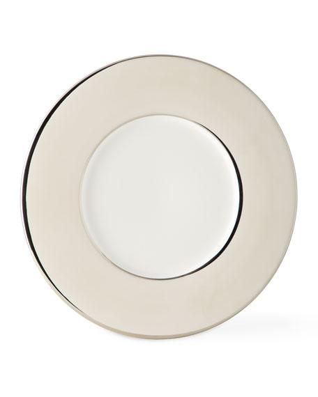 Ralph Lauren Home Somerville Charger, Platinum