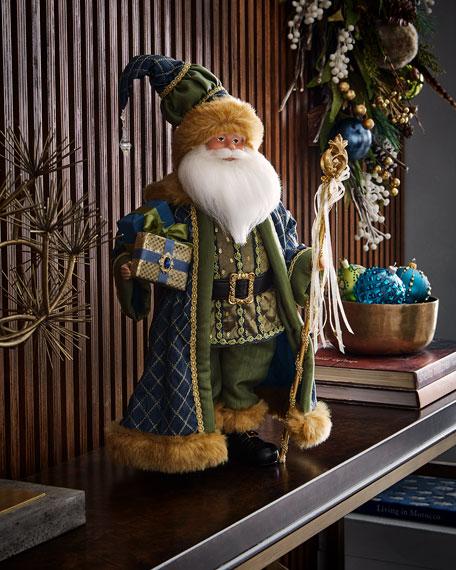 """Woodland Santa Figure, 20"""""""