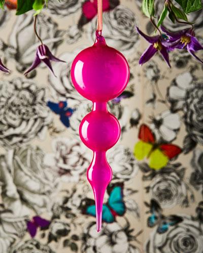 Bubblegum Glass Finial