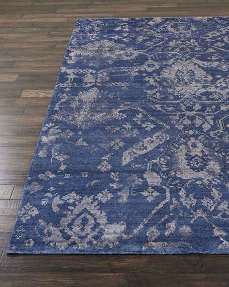 """NourCouture Kady Hand-Knotted Runner, 2'3"""" x 8'"""