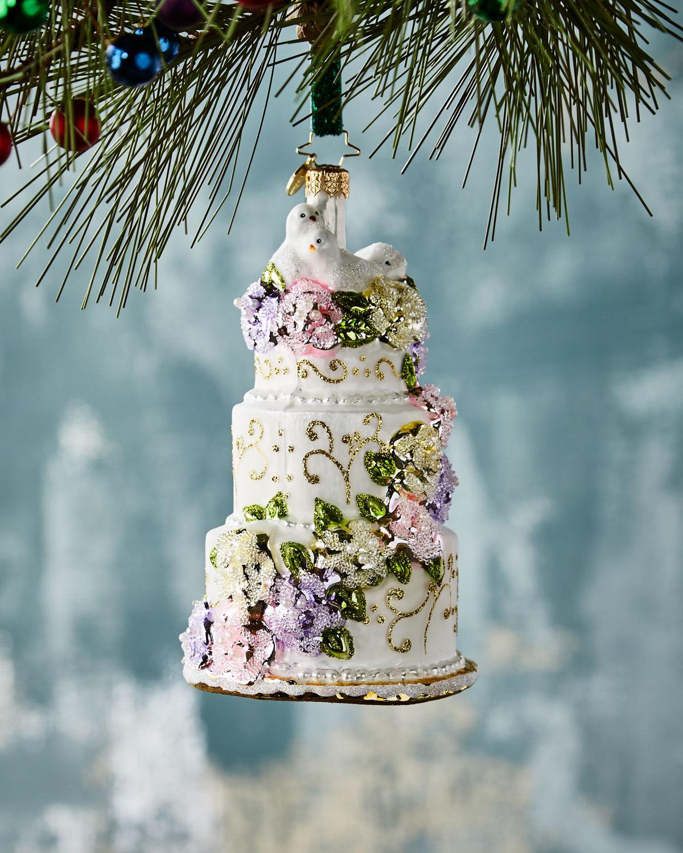 Christopher Radko Newlywed Sweets Christmas Ornament