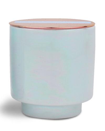 Sky Blu Sea Salt & Plumeria Scented Candle  5 oz./ 140 g