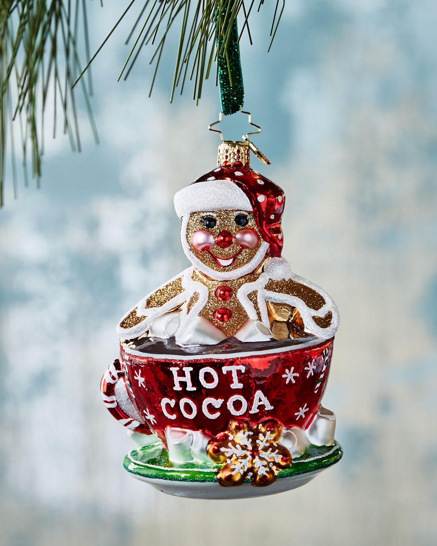 soaking up the holidays gingerbread christmas ornament - Gingerbread Christmas Ornaments