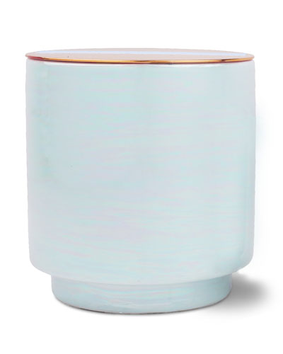 Sky Blu Sea Salt & Plumeria Scented Candle  17 oz./ 482 g