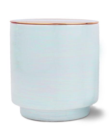 Paddywax Sky Blu Sea Salt & Plumeria Scented Candle, 17 oz./ 482 g