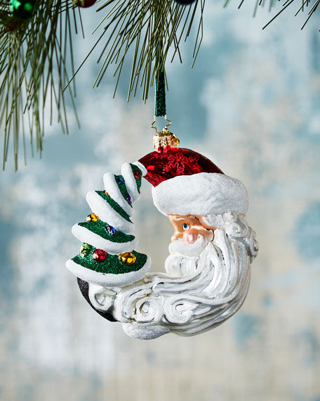 Christopher Radko Moon Struck Christmas Ornament