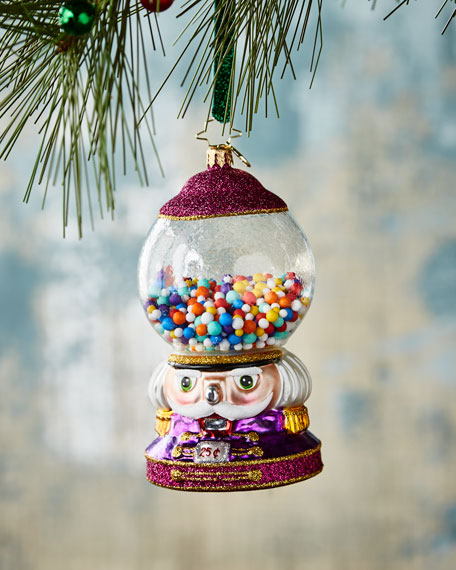 Christopher Radko Bubble Gum Chum Christmas Ornament