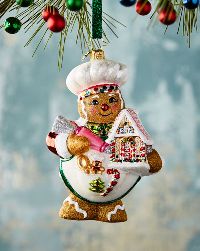 Sweetest Chef Around Gingerbread Ornament
