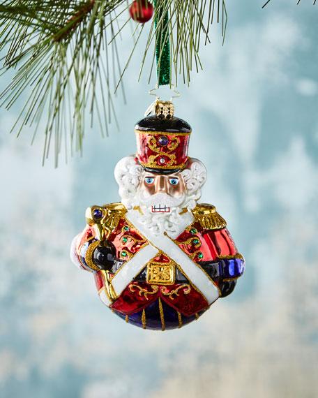 Christopher Radko Man or Mouse Nutcracker Christmas Ornament