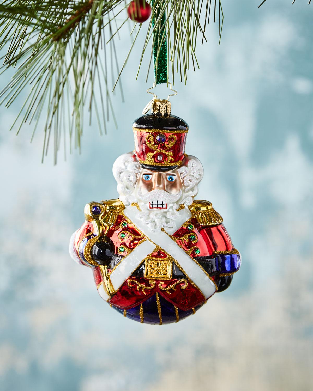 Christopher Radko Man or Mouse Nutcracker Christmas Ornament ...