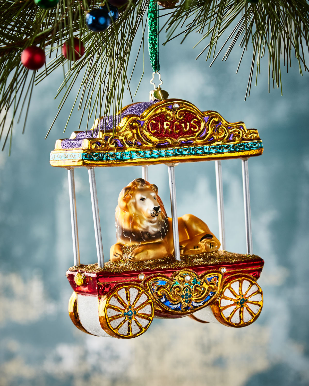 Christopher Radko One Big Kitty Christmas Ornament | Neiman Marcus