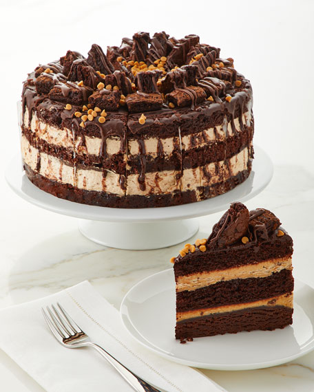 "Annie Pie's Bakery Peanut Butter Explosion Cake, 10"""